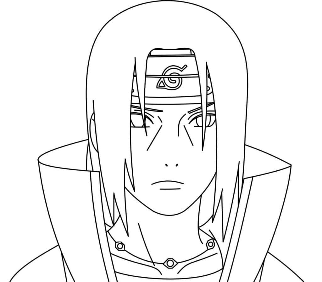 Ausmalbilder Itachi Uchiha - AniYuki - Anime Portal